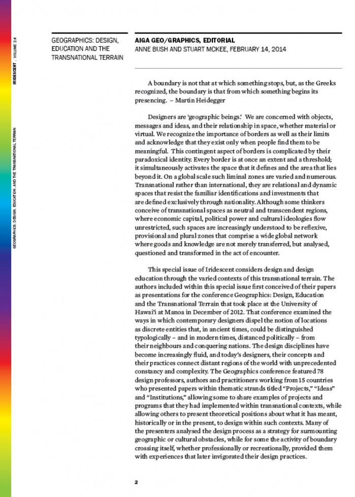 iridescent vol. 2 issue 4