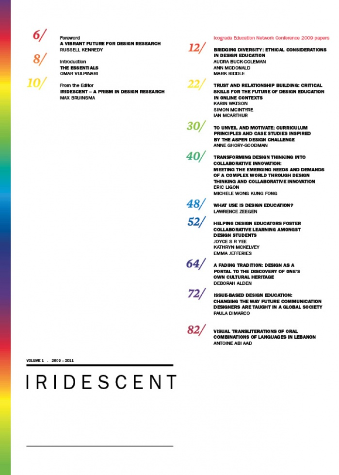 iridescent vol. 1 issue 1